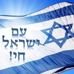 Drapeau Am Israel Hai