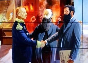 Rencontre du Kaiser et de Theodor Herzl, par l'entremise du pasteur William Hechler
