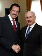 Mike Evans et B. Netanyahou