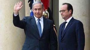 Hollande et Bibi