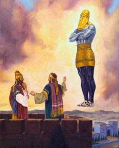 Daniel et la statue de Nebucanetsar