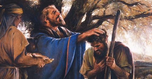 Abram et Melchisédek