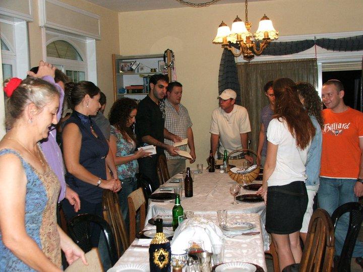 Un repas de Shabbat