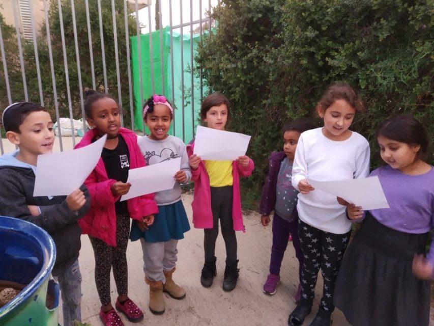 La chorale des enfants